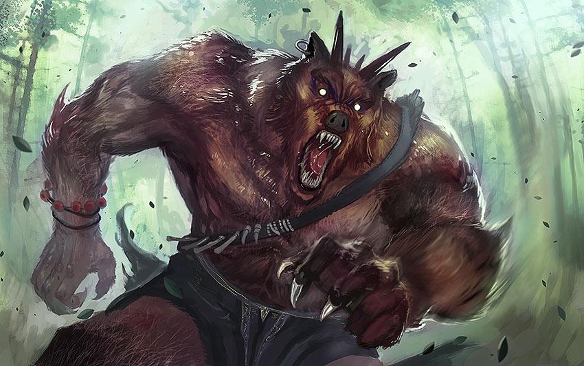 Hombre oso. Imagen de Dan Wong Zi Jian