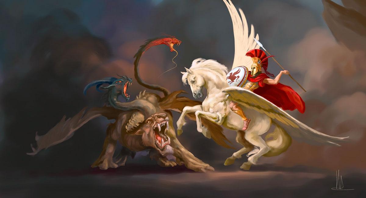 Quimera - Seres Mitológicos y Fantásticos