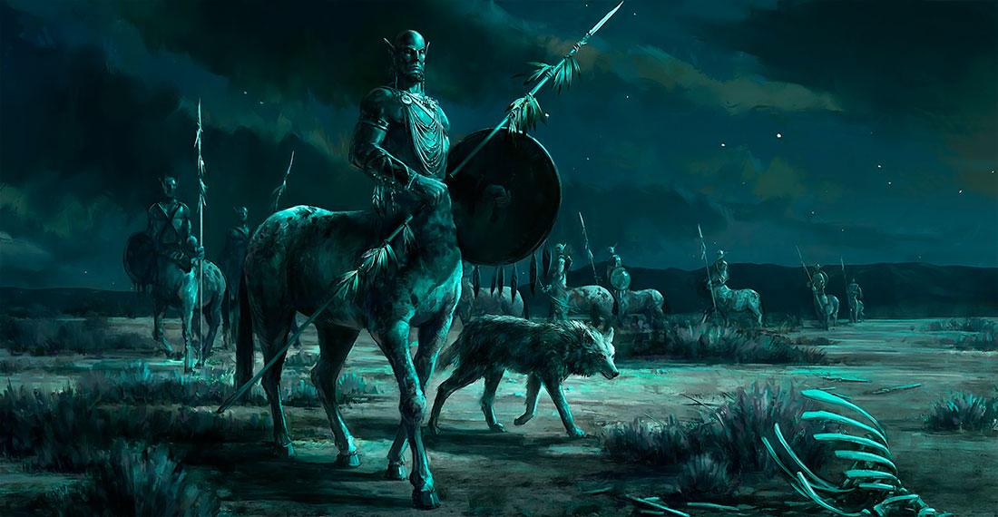 Tribu de centauros. Imagen de Jared_Shear