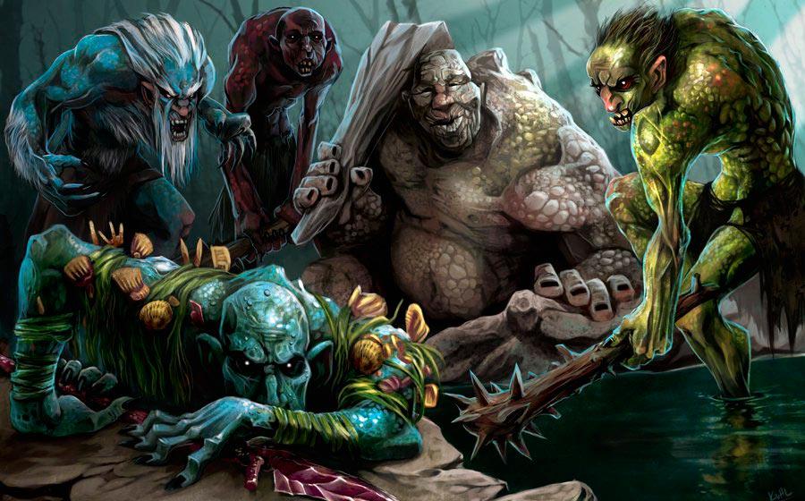 Trolls. Imagen de Chris Kuhlmann