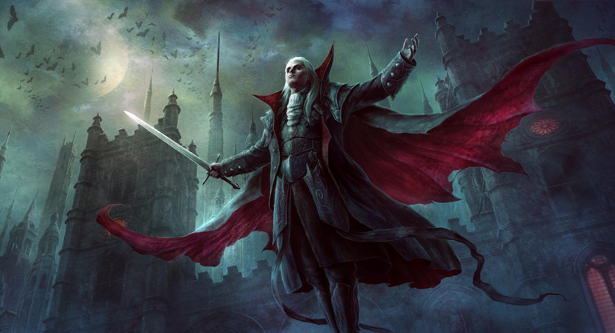 Vampiro y murciélagos, de Jason Chan