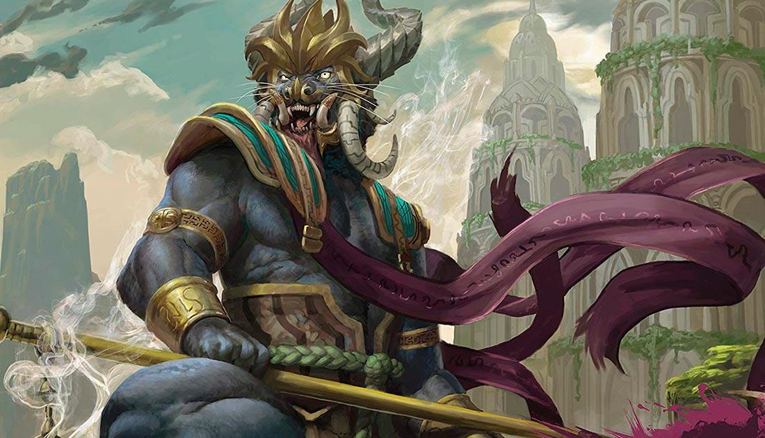 Rakshasa. Imagen de Peter Mohrbacher